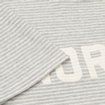 Мужская футболка Norse Projects Niels Cotton Linen Stripe Light Grey фото- 4