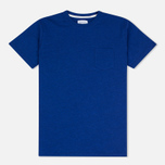 Norse Projects Niels Flame Overdye Men's T-shirt Cornflower Blue photo- 0