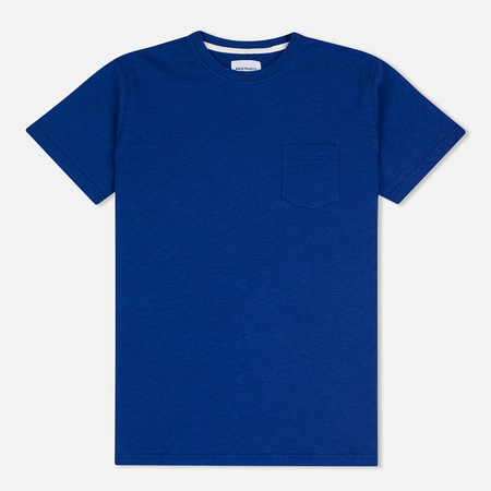 Мужская футболка Norse Projects Niels Flame Overdye Cornflower Blue