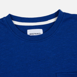 Norse Projects Niels Flame Overdye Men's T-shirt Cornflower Blue photo- 1