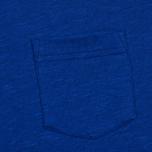 Norse Projects Niels Flame Overdye Men's T-shirt Cornflower Blue photo- 2