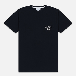Мужская футболка Norse Projects Niels Ivy Wave Logo Dark Navy
