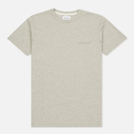 Мужская футболка Norse Projects Niels Logo Light Grey Melange фото- 0