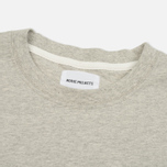 Мужская футболка Norse Projects Niels Logo Light Grey Melange фото- 1