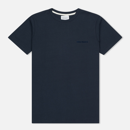 Мужская футболка Norse Projects Niels Logo Navy