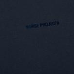 Мужская футболка Norse Projects Niels Logo Navy фото- 2
