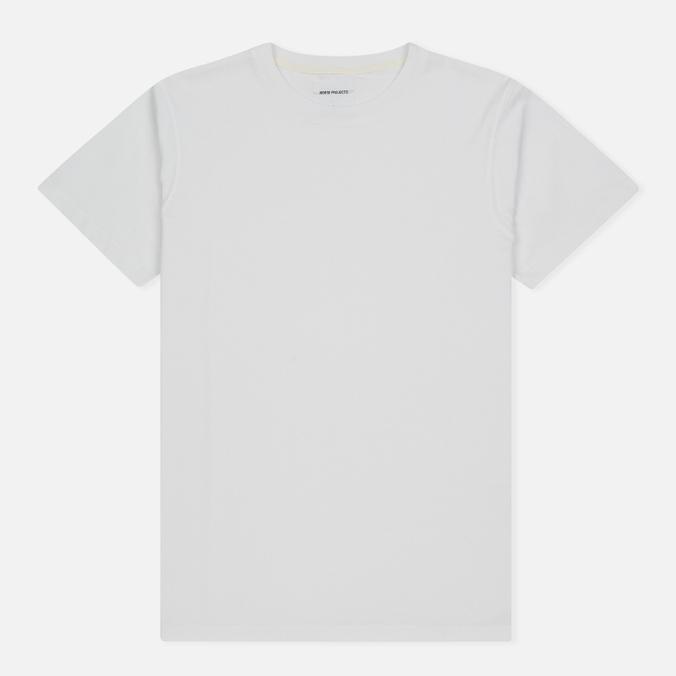 Мужская футболка Norse Projects Niels Logo White