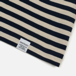 Мужская футболка Norse Projects Niels Military Stripe Kit White/Navy фото- 2
