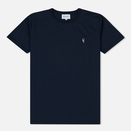 Мужская футболка Norse Projects Niels Multi N Logo Dark Navy