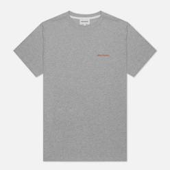Мужская футболка Norse Projects Niels Norse Projects Logo Light Grey Melange