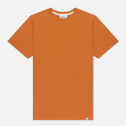 Мужская футболка Norse Projects Niels Standard Cadmium Orange