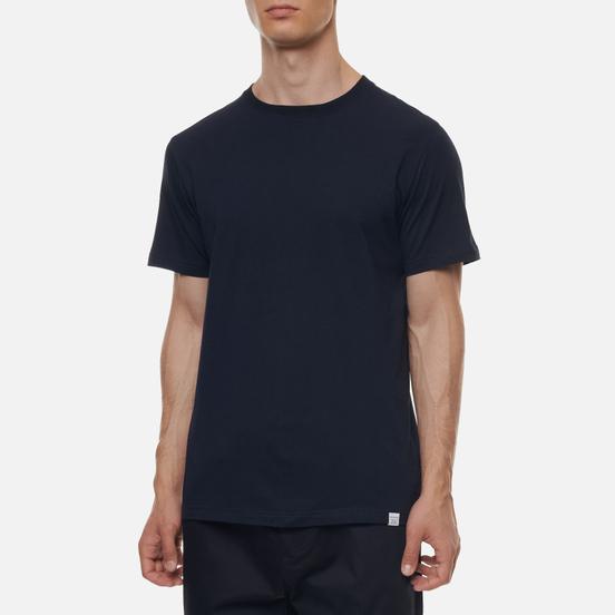 Мужская футболка Norse Projects Niels Standard Dark Navy