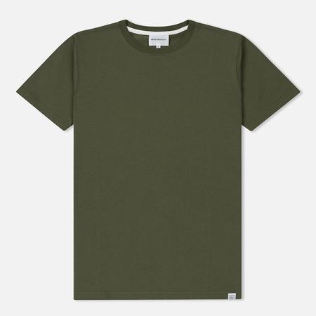 Мужская футболка Norse Projects Niels Standard Dried Olive