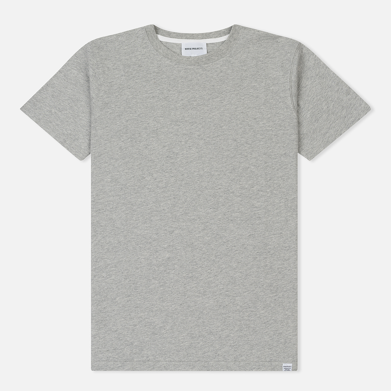Мужская футболка Norse Projects Niels Standard Light Grey Melange