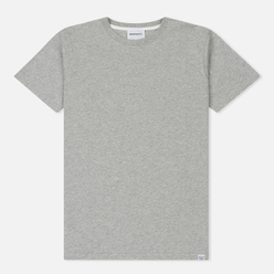 Мужская футболка Norse Projects Niels Standard Light Grey Melange