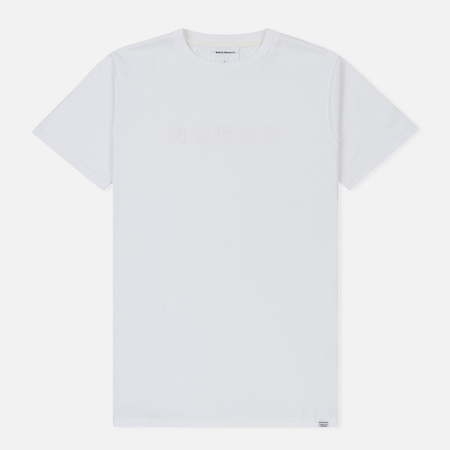 Мужская футболка Norse Projects Niels Standard Logo White