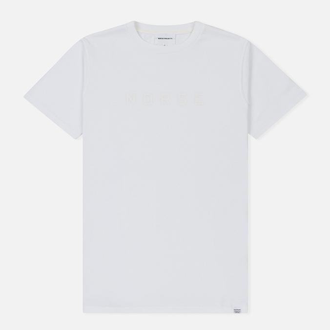 Мужская футболка Norse Projects Niels Standard Logo White