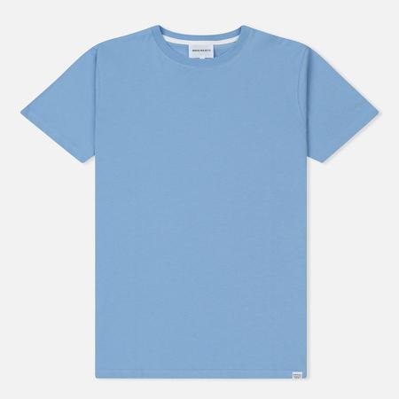 Мужская футболка Norse Projects Niels Standard Luminous Blue