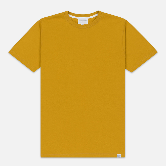 Мужская футболка Norse Projects Niels Standard Montpellier Yellow