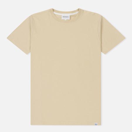 Мужская футболка Norse Projects Niels Standard Sand