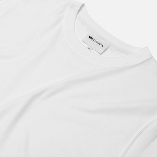 Мужская футболка Norse Projects Niels Standard White