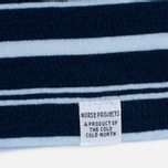 Мужская футболка Norse Projects Niels Stripe Dark Indigo фото- 2