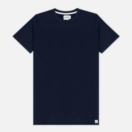 Norse Projects Rasmus Slub Cotton SS Men's T-Shirt Navy
