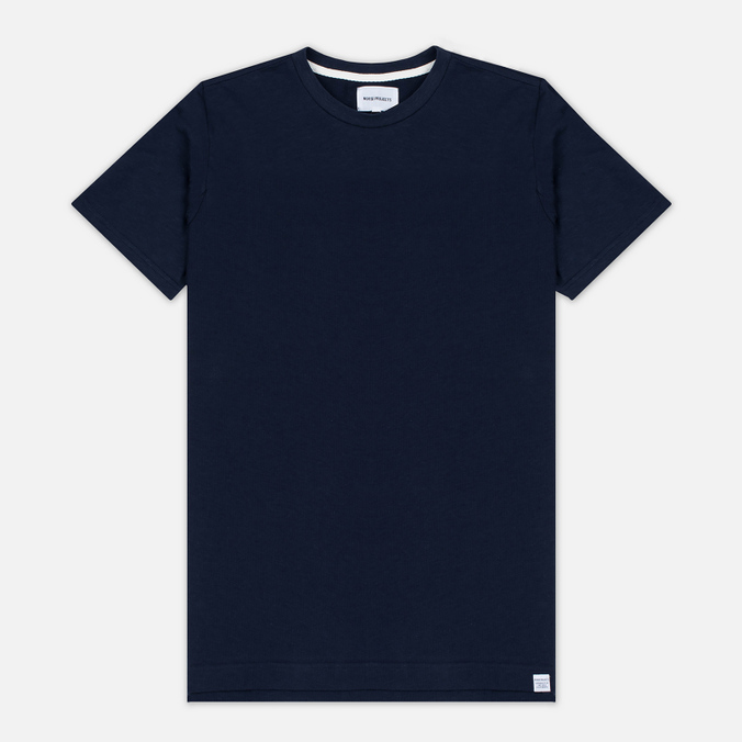Мужская футболка Norse Projects Rasmus Slub Cotton SS Navy
