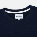 Мужская футболка Norse Projects Rasmus Slub Cotton SS Navy фото- 1