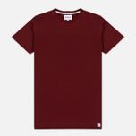 Мужская футболка Norse Projects Rasmus Slub Cotton SS Red Clay фото- 0
