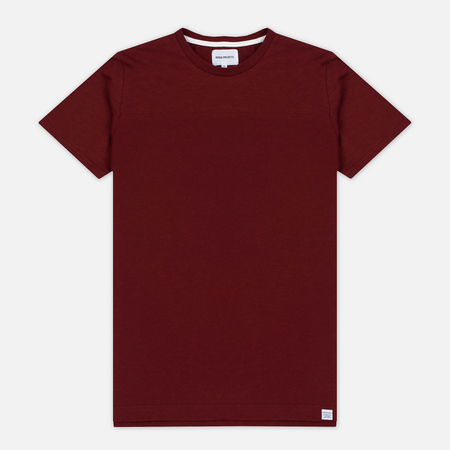 Мужская футболка Norse Projects Rasmus Slub Cotton SS Red Clay
