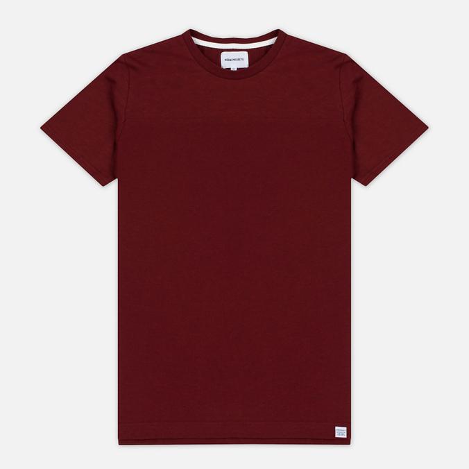 Мужская футболка Norse Projects Rasmus Slub Cotton SS Red Clay