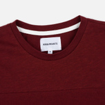 Norse Projects Rasmus Slub Cotton SS Men's T-Shirt Red Clay photo- 2