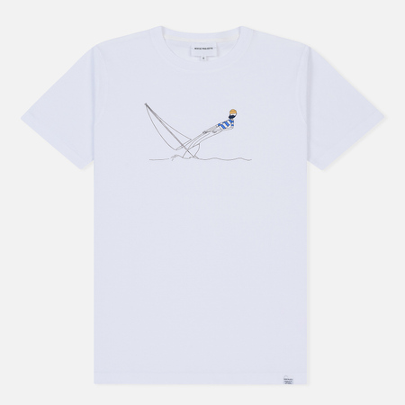Мужская футболка Norse Projects x Daniel Frost Hanging White