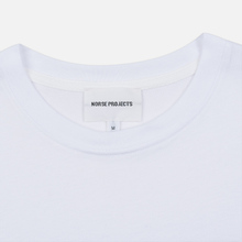 Мужская футболка Norse Projects x Daniel Frost Standing Skier White фото- 1