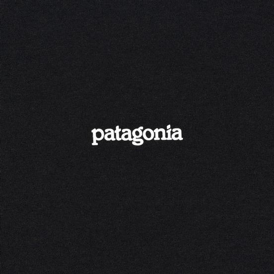 Мужская футболка Patagonia Fitz Roy Horizons Black