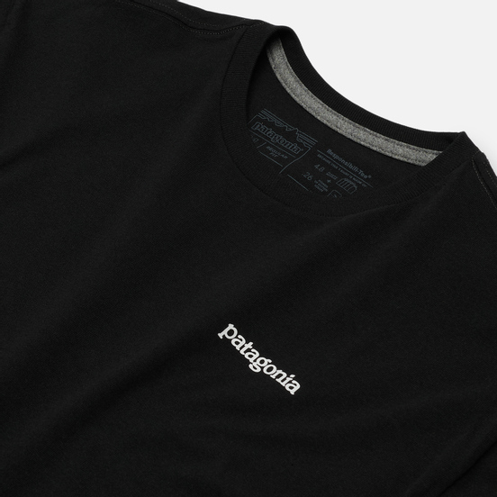 Мужская футболка Patagonia Fitz Roy Horizons Logo Black