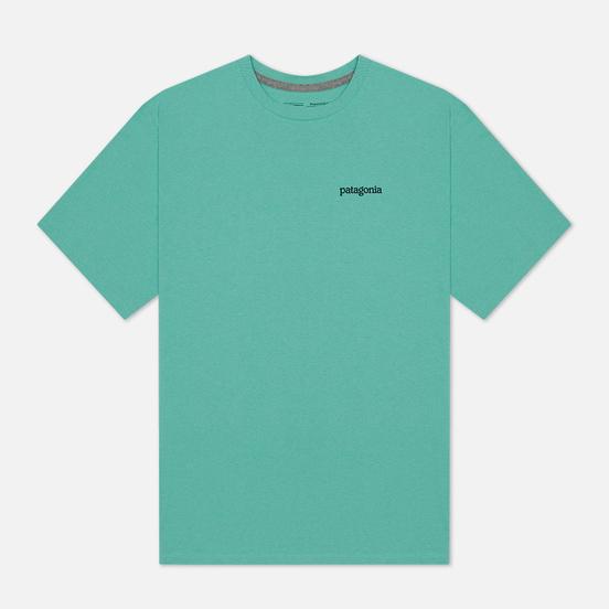 Мужская футболка Patagonia Fitz Roy Horizons Logo Light Beryl Green