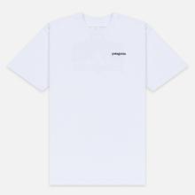 Мужская футболка Patagonia Fitz Roy Horizons White фото- 0