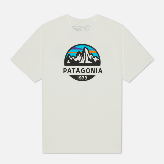 Мужская футболка Patagonia Fitz Roy Scope Organic White