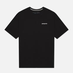 Мужская футболка Patagonia P-6 Logo Organic Black