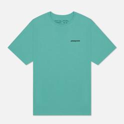 Мужская футболка Patagonia P-6 Logo Organic Light Beryl Green