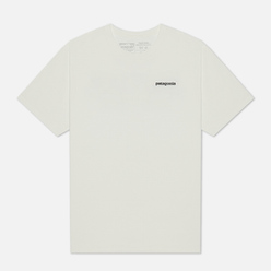 Мужская футболка Patagonia P-6 Logo Organic White