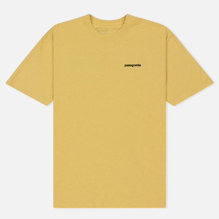 Мужская футболка Patagonia P-6 Logo Surfboard Yellow
