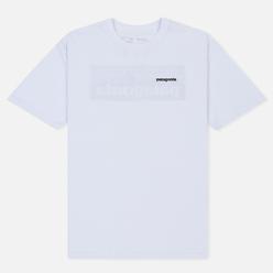 Мужская футболка Patagonia P-6 Logo White