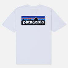 Мужская футболка Patagonia P-6 Logo White фото- 1