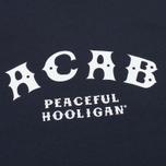 Мужская футболка Peaceful Hooligan ACAB Navy фото- 2
