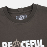 Мужская футболка Peaceful Hooligan Anarchy Khaki фото- 1