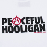 Мужская футболка Peaceful Hooligan Anarchy White фото- 2