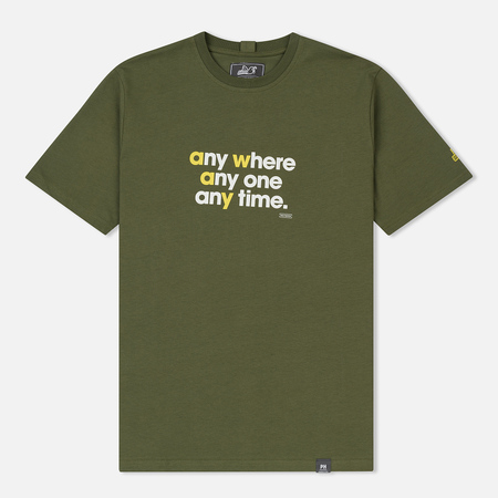 Мужская футболка Peaceful Hooligan Anywhere Khaki